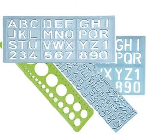 plantilla letras escaparate