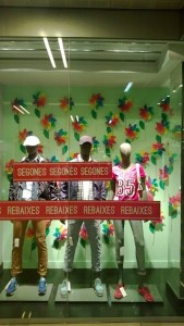 forma de decorar escaparates