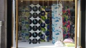 tienda de telas escaparate