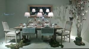 escaparate de navidad muebles