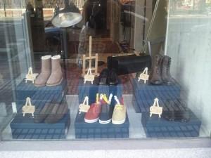 ideas para escaparates de zapatos