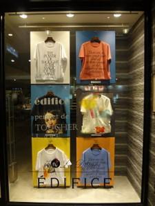 escaparate camisetas japon tokyo
