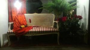escaparate floristeria san valentin