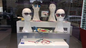 decoracion original de opticas