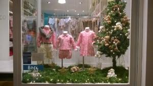 escaparates navideños de niños