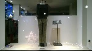 fotos decoracion navideña tiendas